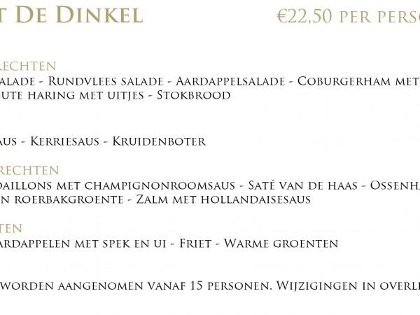 Buffet De Dinkel